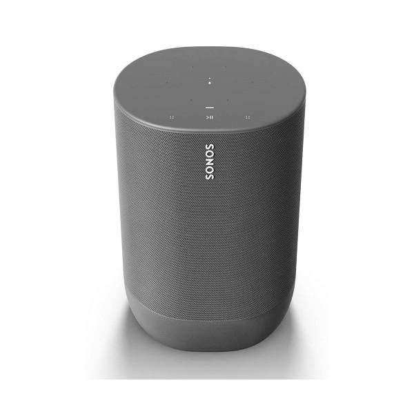 Sonos move negro altavoz inteligente ip56 con batería wifi bluetooth con airplay 2 google assistant alexa
