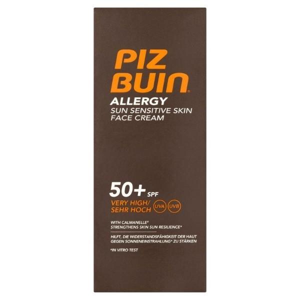 Piz Buin crema facial Allergy SFP50+ 50 ml