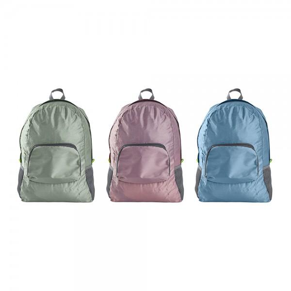 mochila plegable 30x16x42cm colores surtidos