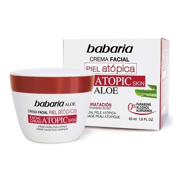 Babaria piel atopica crema facial 50ml