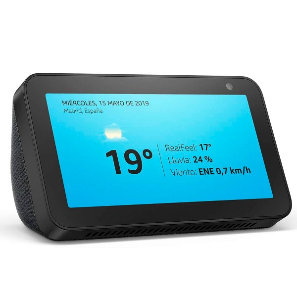 Amazon echo show 5 negro pantalla 5.5'' inteligente con alexa bluetooth wifi