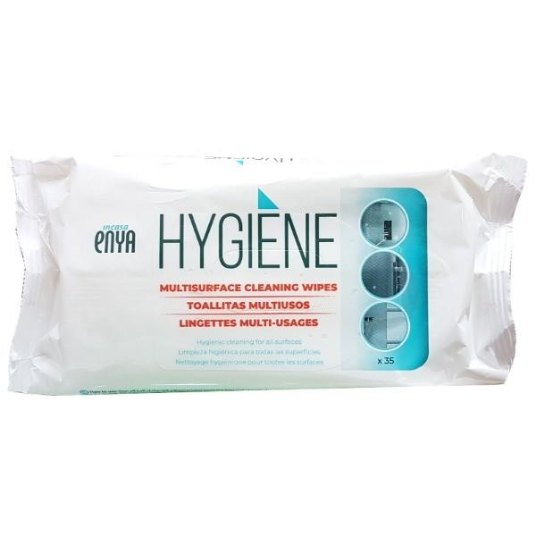 Enya toallitas higienizantes multisuperfícies 35 unidades