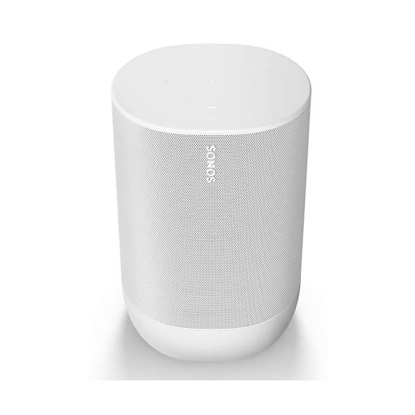 Sonos move blanco altavoz inteligente ip56 con batería wifi bluetooth con airplay 2 google assistant alexa